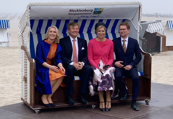 King Willem-Alexander's and Queen Maxima's working visit to Mecklenburg-Western Pomerania, 1st Day