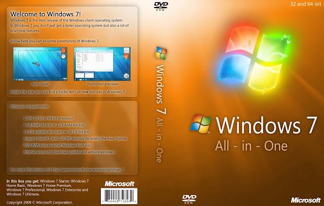 Windows 7 AIO Update Februari 2018
