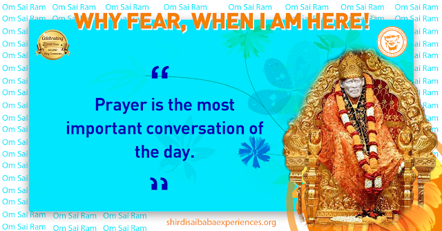Prayer For Prosperity And Good Health - Anonymous Sai Devotee