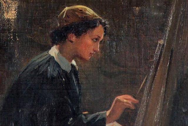 Ελένη Μπούκουρα-Αλταμούρα: Η πρώτη Ελληνίδα επαγγελματίας ζωγράφος