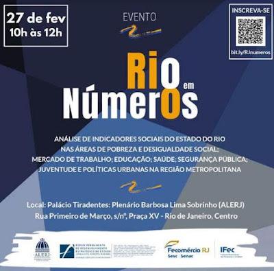 Fecomércio RJ / IFec lançam projeto Rio em Números na Alerj
