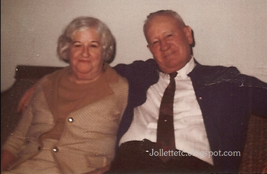 Julia and Fred Slade http://jollettetc.blogspot.com
