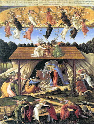 Sandro Botticelli - La nativité mystique ca.1500