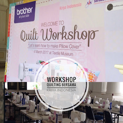 Workshop Quilting Bersama Kriya Indonesia