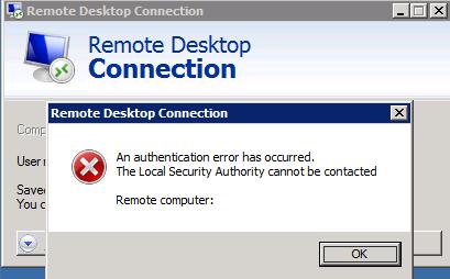 Remote Desktop hardening issue | I create my own way