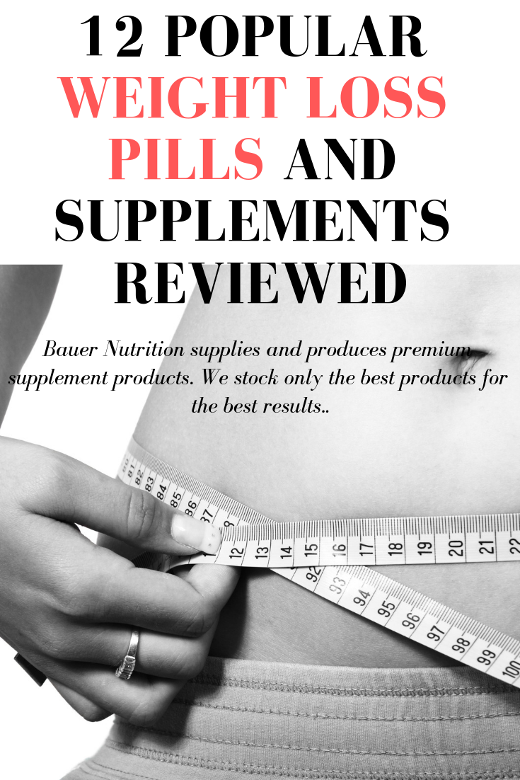 Popular Weight Loss Pills and Supplements Reviewed