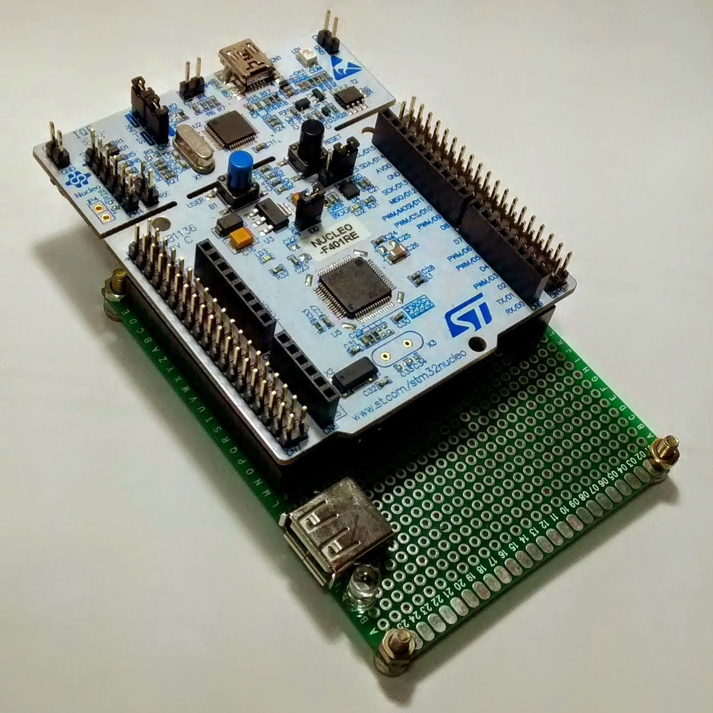 Moreto's Projects: STM32F4 USB HOST AND DEVICE