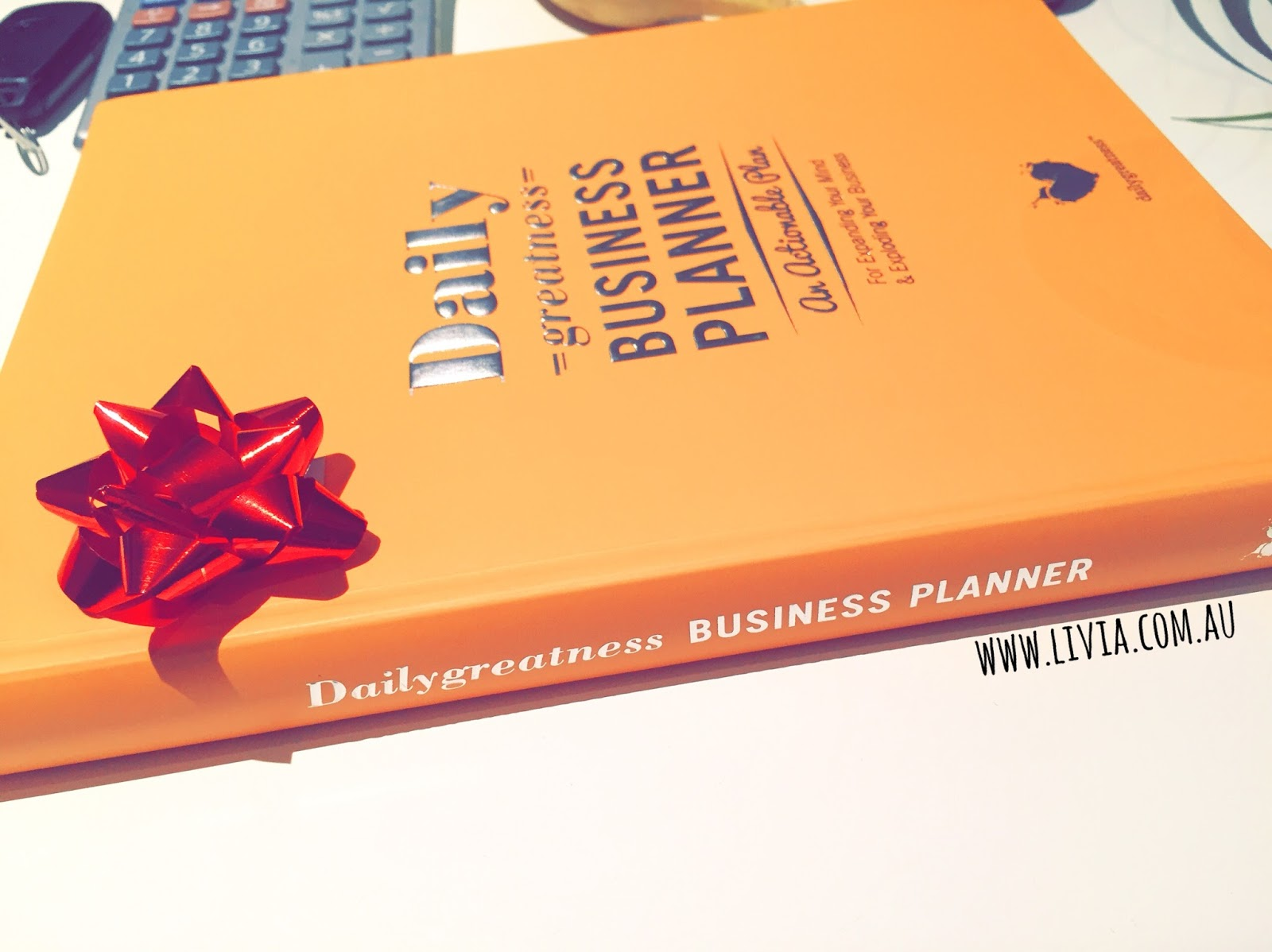 dailygreatness business planner