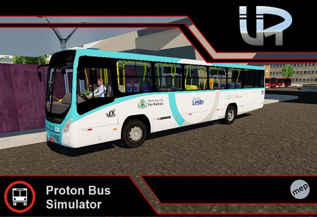 Skin Proton Bus Simulator - Torino 14 MB OF-1721 BT5 Viação Fortaleza