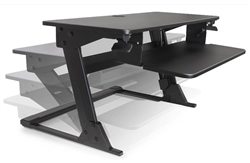 Adjustable Sit To Stand Desk Attachment - Volante