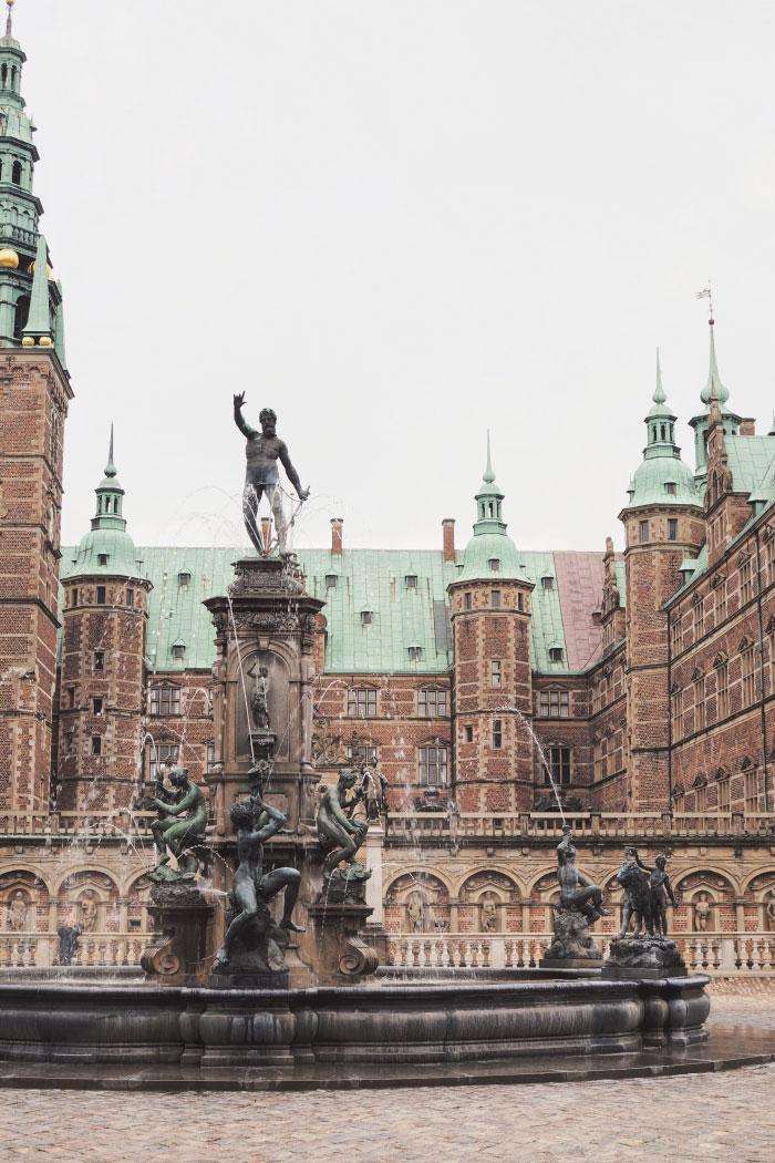 Visite du château de Frederiksborg au Danemark