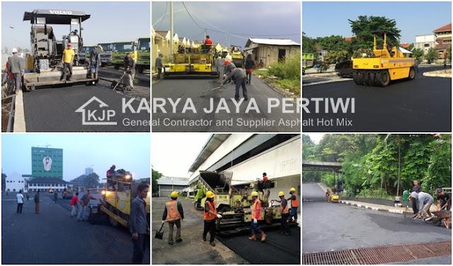 Jasa Kontraktor Jalan, Perbaikan Pengaspalan Jalan Raya Tol Perumahan Pabrik di Jakarta Bogor Depok Bekasi Tangerang Bandung wilayah Jawa Barat sekitarnya