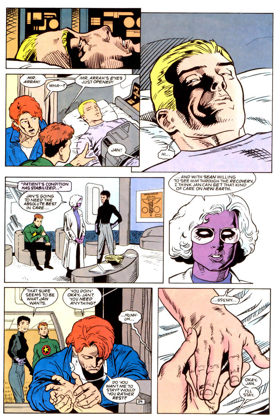 Legion of Super-Heroes (1989) 50 Page 24