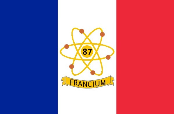 The Voice Of Vexillology Flags Heraldry Fun Flag For Francium