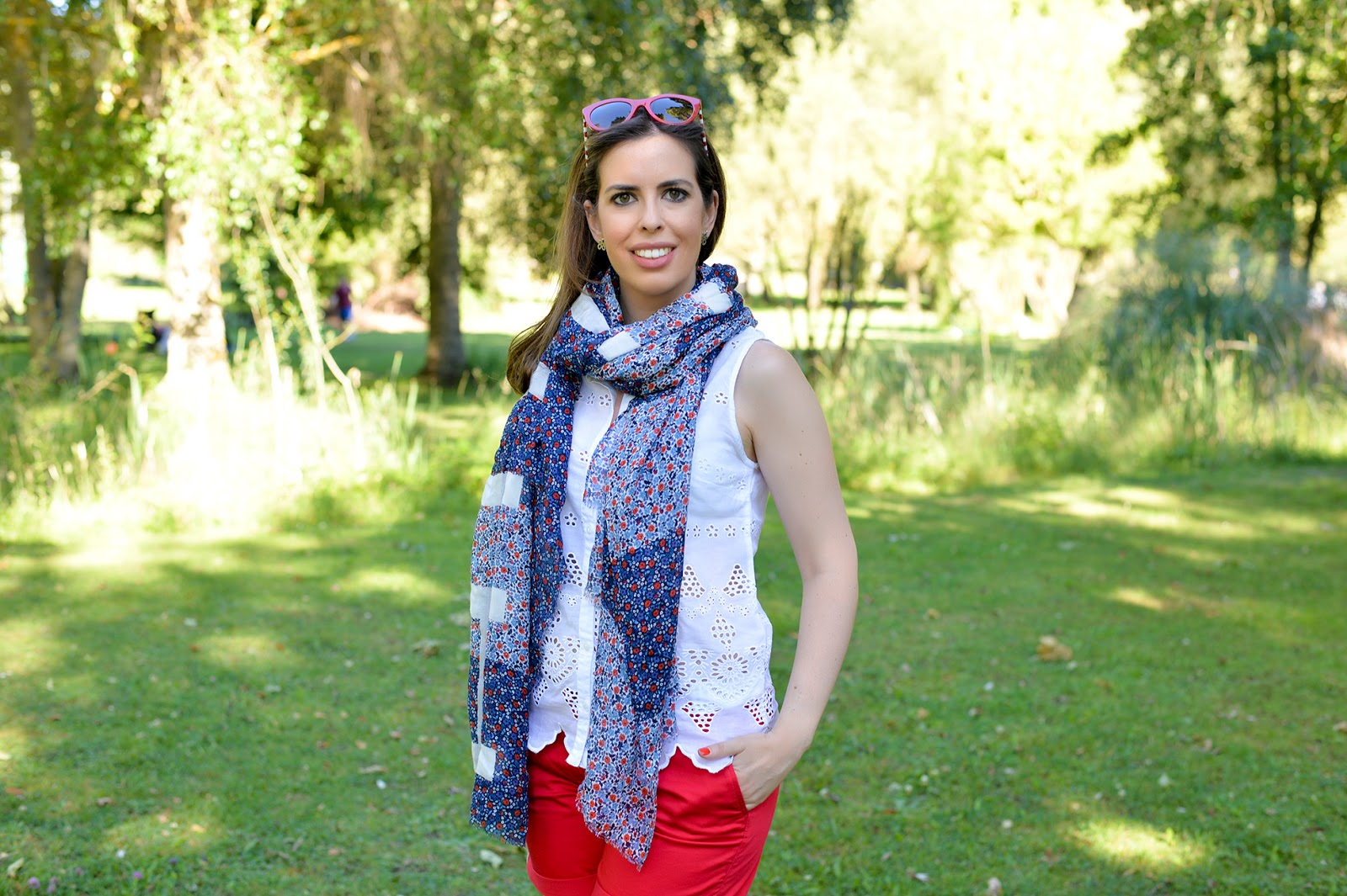 fourth of july picnic tommy hilfiger fashion blogger