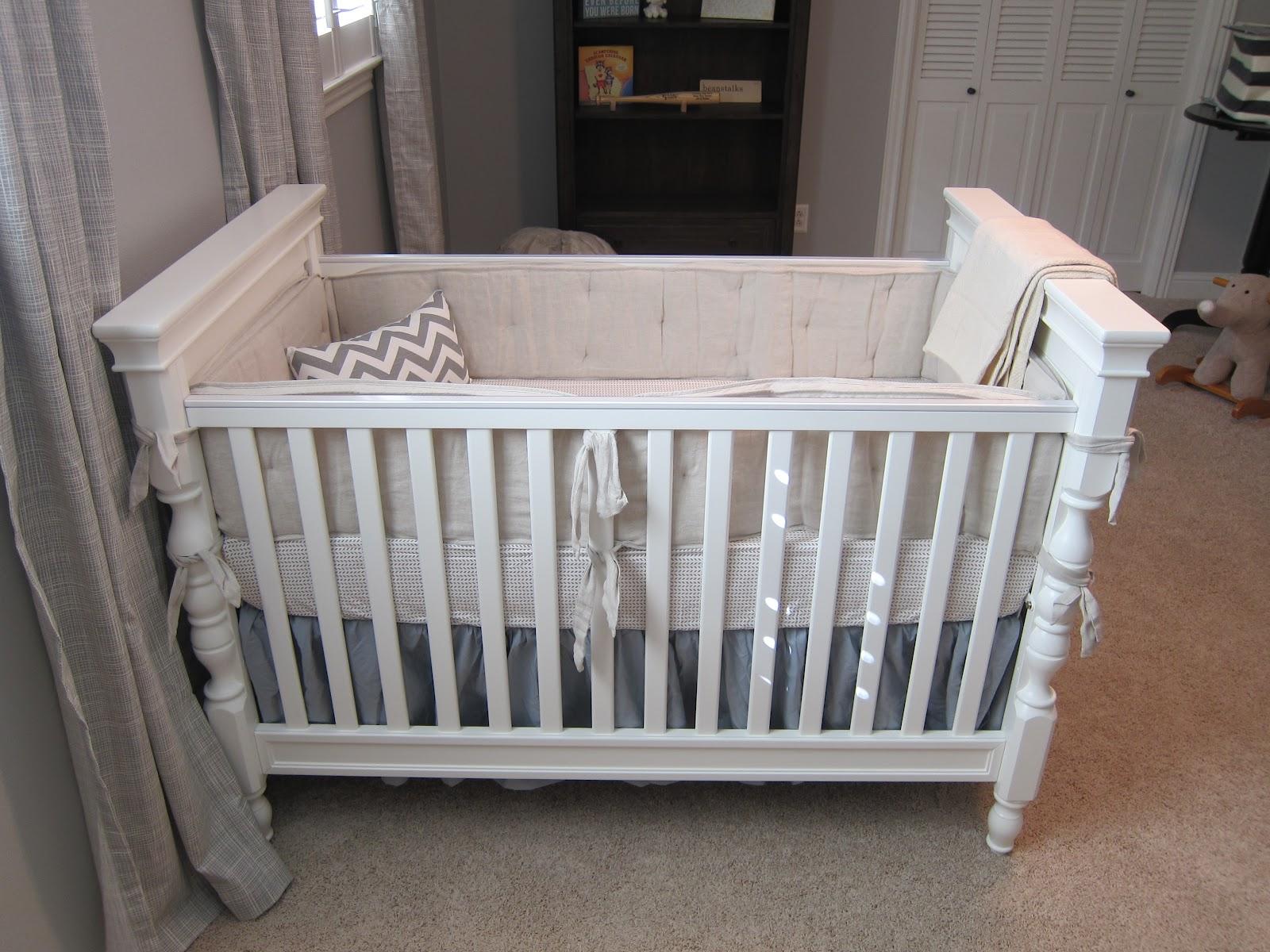 Nursery Update Vintage Inspired Bedding