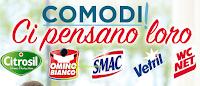 Logo Eroi di casa 2018 ''Comodi ci pensano loro'': vinci 300€ per servizi professionali e buono Divani&Divani