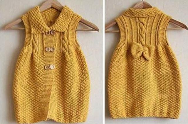 wzory dla dziewczynek na drutach i szydelkiem
