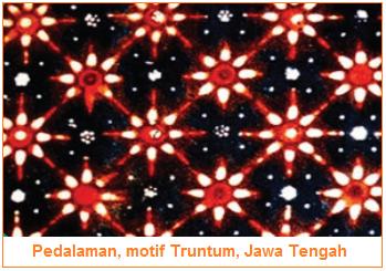 Pedalaman, motif Truntum, Jawa Tengah