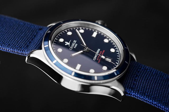Charlie Paris Concordia Automatic blue