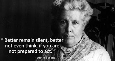 Annie Besant Quotes Images for Independence Day