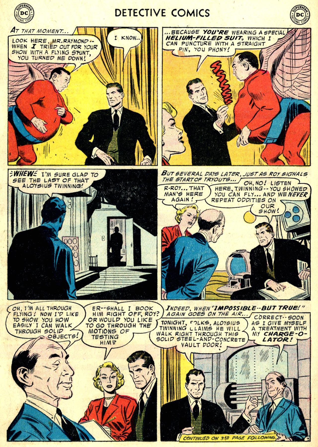 Read online Detective Comics (1937) comic -  Issue #240 - 17