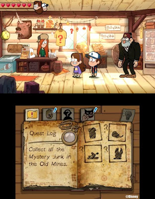 Gravity Falls Legend of the Genome Gemulets 3DS cIA Gdrive