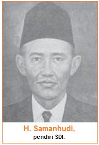 H. Samanhudi - Pendiri SDI