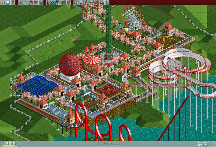 RollerCoaster Tycoon Deluxe Full Version | Download Low ...