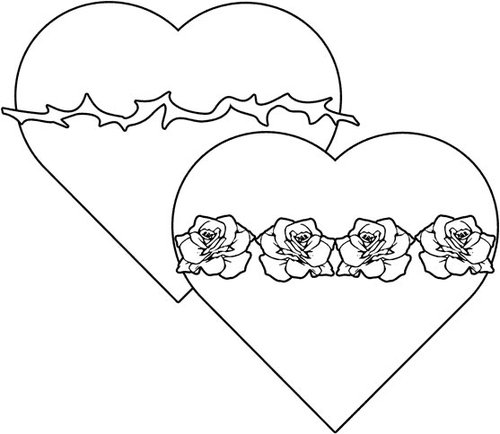 hearts coloring pages gt gt disney coloring pages