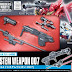 Builders Parts 1/144 System Weapon 007: Bazooka and Spears - Release Info, Box Art and Official Images
