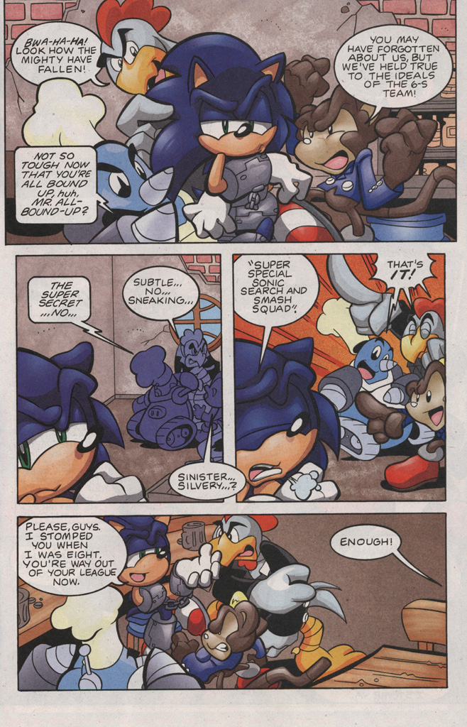 Read online Sonic The Hedgehog comic -  Issue #188 - 11