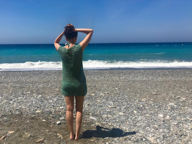 Tutorial vestido para la playa de ganchillo