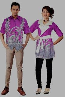 Model baju batik couple untuk remaja