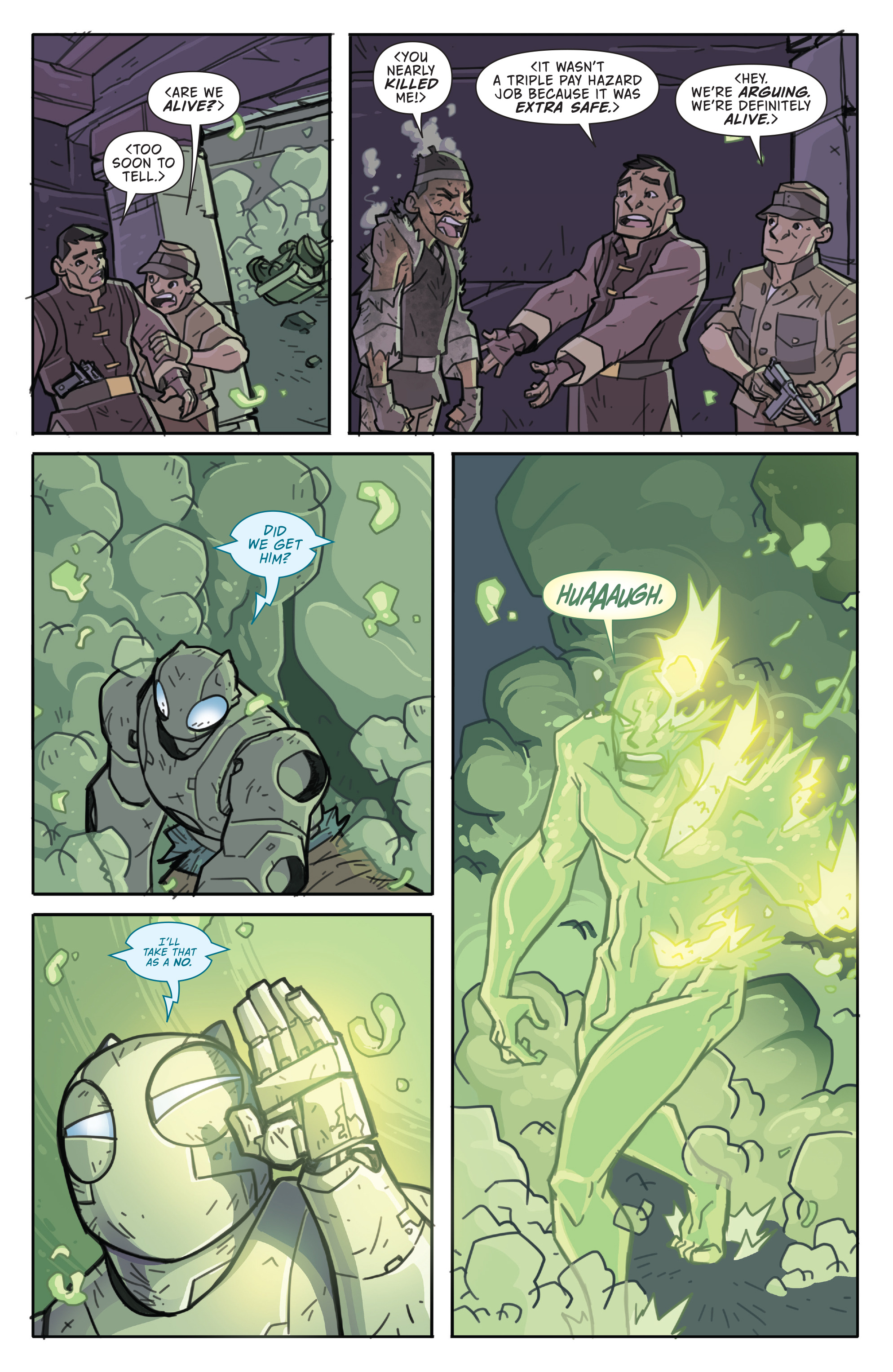 Read online Atomic Robo and the Temple of Od comic -  Issue #5 - 6