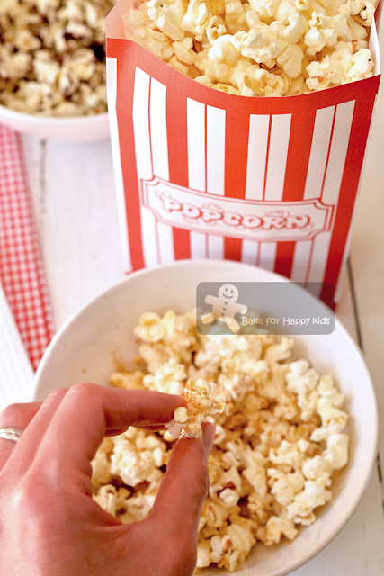 healthy air popped fat free popcorn
