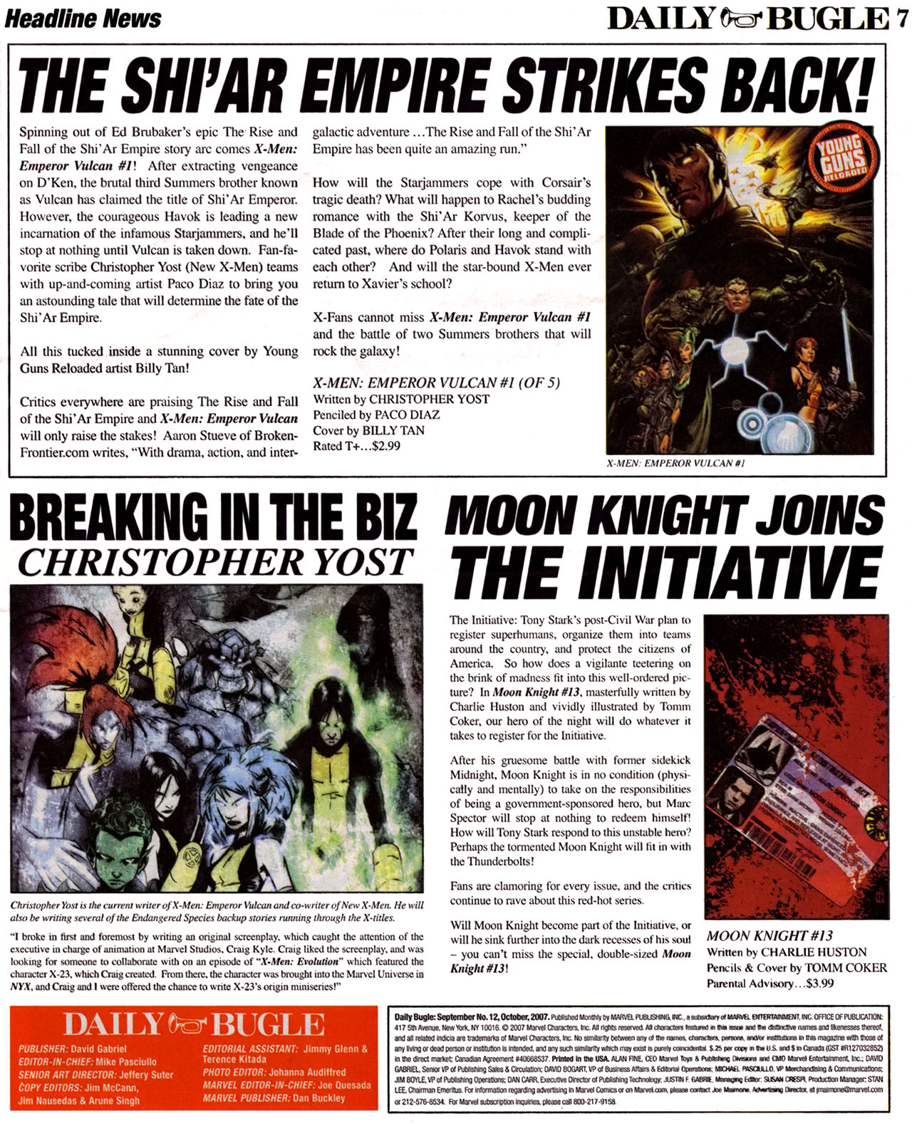 Read online Daily Bugle (2006) comic -  Issue #12 - 8