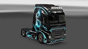 Dragon skin for Volvo