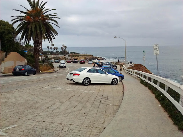 Parking at La Jolla Cove