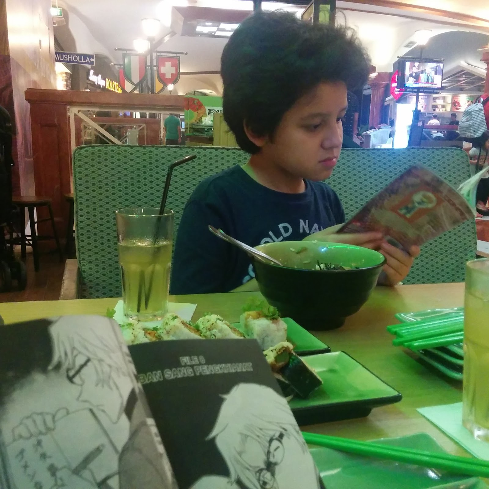 Mama, Dudu and Their Everyday Adventure: Cinta Negeri