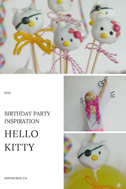 hello kitty, party, ideen, kuchen, cake pops, motto party, kinder, kids, tischbombe selber machen, diy, hello kitty spiel, blinde kuh, kinder geburtstag, party, birthday, inspiration