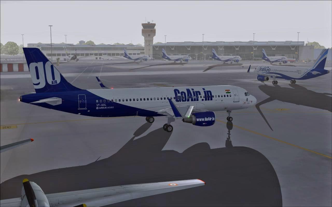 FS2004 REPAINTS: PROJECT AIRBUS A320-200 SL GoAir VT-GOL // VT-GON