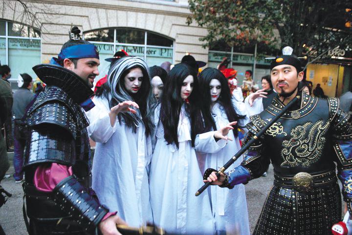 Q Branch Mirror Site Happy Halloween Surprisingly Halloween Increasingly Popular With Korean Kids