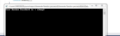 how to generate random password in asp.net
