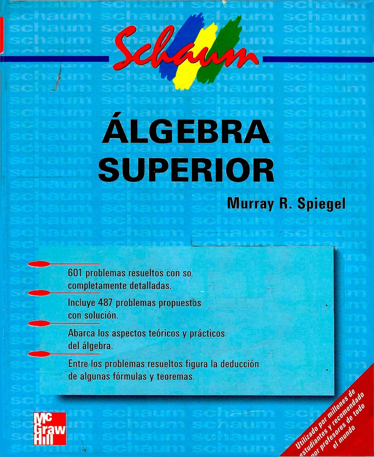ALGEBRA SUPERIOR - MURRAY SPIEGEL %25C3%2581lgebra-Superior---Murray-R.-Spiegel-FREELIBROS
