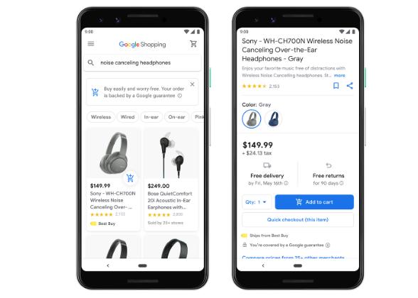 Google Express sekarang Menjadi Google Shopping Akan Permudah Kita Dalam Mencari Produk