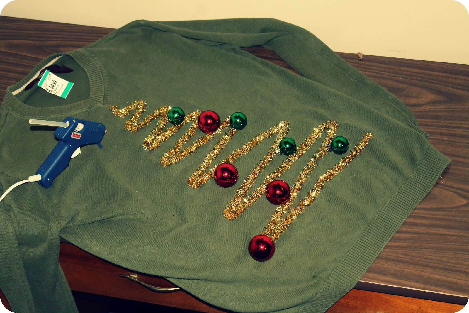 Tacky homemade christmas sweaters