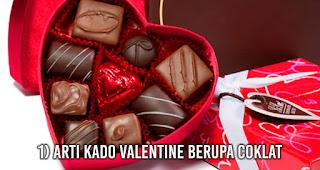 Arti Kado Valentine Berupa Coklat