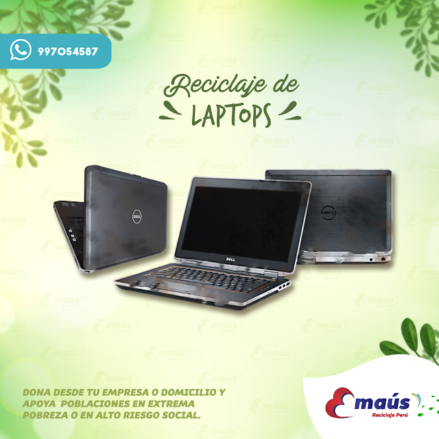 Reciclaje de Laptops  - Emaús Reciclaje Perú