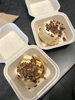 vegan cinnamon rolls in Salt Lake City from Cinnaholic
